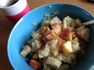 Pastinaakstamppot ontbijt
